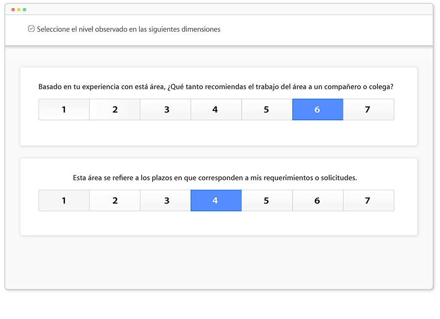 Configura evaluaciones NPS