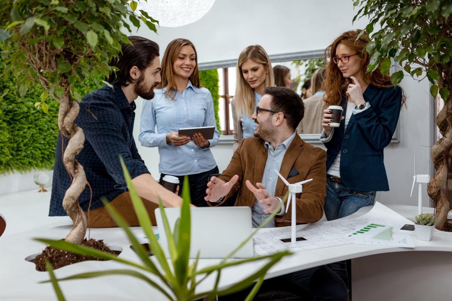 Revisión de resultados de clima en equipos de trabajo