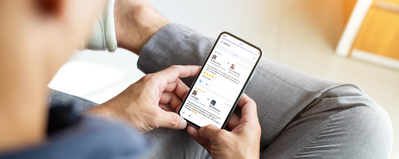 Aplicación móvil para procesos de desarrollo organizacional Rankmi